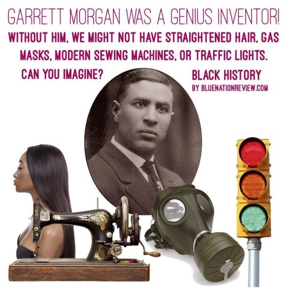 Bildresultat för garrett morgan inventions